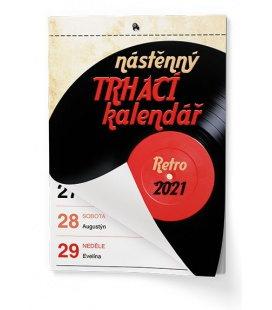 Wall calendar Trhací kalendář - Senior II. - A5 2021