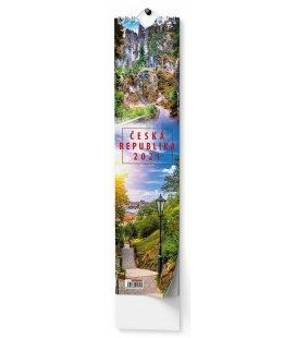 Wall calendar Kravata - Česká republika - vázanka 2021