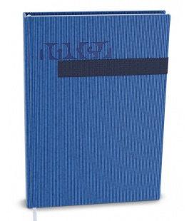 Notepad lined with a pocket A5 - vigo blue, blue 2021