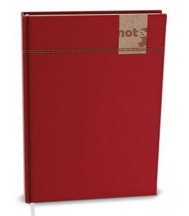 Notepad lined with a pocket A5 - denim 2021