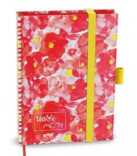 Diary - Motivační diář MOTY - B6 - lamino - undated red 2021