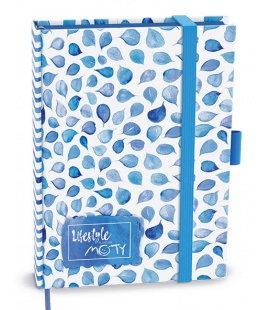 Diary - Motivační diář MOTY - B6 - lamino - undatedý blue  2021