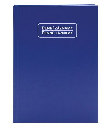 Diary - Daily Notes A5 - blue 2021