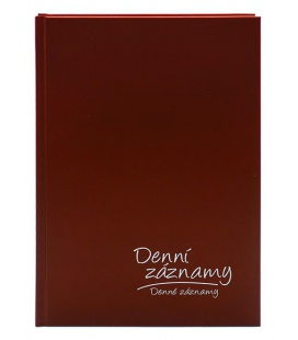Diary - Daily Notes A5 - bordo 2021