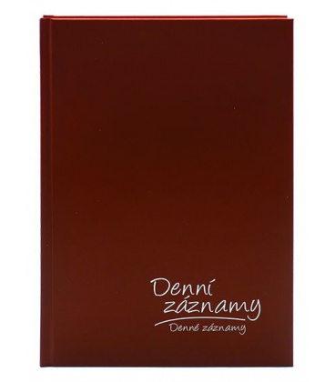 Diary - Daily Notes A5 - bordo 2021
