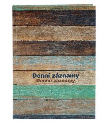 Diary - Daily Notes A5 - Dřevo 2021