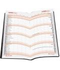 Pocket diary monthly lamino - Listy 2021