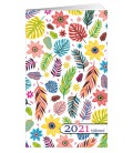 Pocket diary fortnightly lamino - Lístky 2021