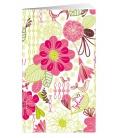 Pocket diary fortnightly lamino - Květy 2021