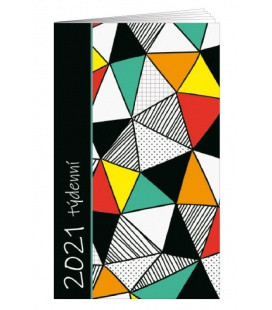 Pocket diary fortnightly lamino - Obrazce 2021