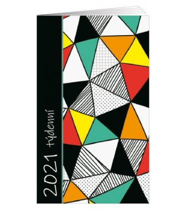 Pocket diary fortnightly lamino - Obrazce 2021