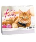 Table calendar Kočky /s kočičími jmény/ 2021