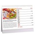Table calendar Kuře stokrát jinak 2021