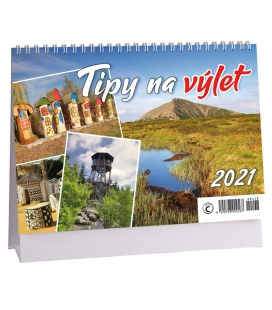 Table calendar Tipy na výlet 2021