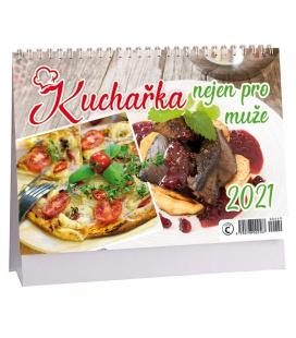 Table calendar Kuchařka nejen pro muže 2021