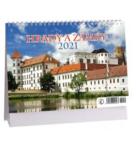 Table calendar Hrady a zámky 2021