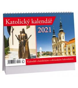Table calendar Katolický 2021