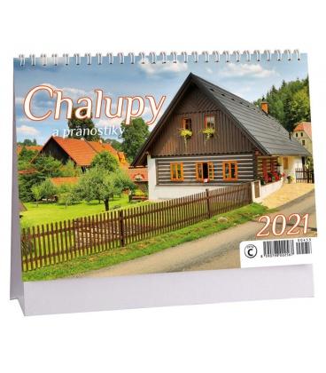 Table calendar Chalupy a pranostiky 2021