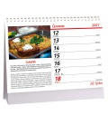 Table calendar Levně a chutně 2021