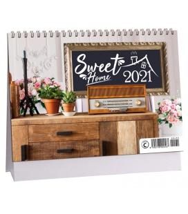 Table calendar Sweet home 2021