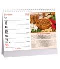 Table calendar Gulášové recepty 2021