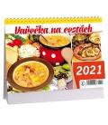 Table calendar Vařečka na cestách 2021
