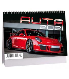 Table calendar Auta 2021