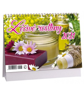 Table calendar Léčivé rostliny 2021