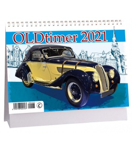 Table calendar Oldtimer 2021