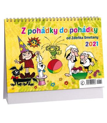 Table calendar Z pohádky do pohádky 2021
