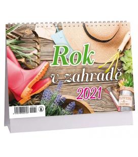 Table calendar Zahradníkův rok 2021