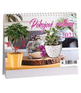 Table calendar Pokojové rostliny 2021