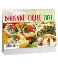 Table calendar Barevné chutě 2021