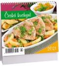 Table calendar Česká kuchyně mini 2021