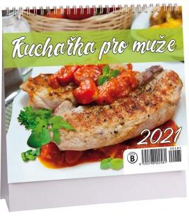 Table calendar Kuchařka pro muže mini 2021