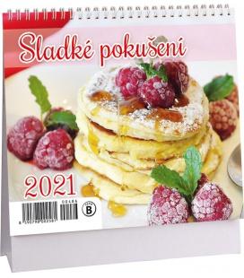 Table calendar Sladké pokušení mini 2021
