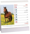 Table calendar Koně mini 2021