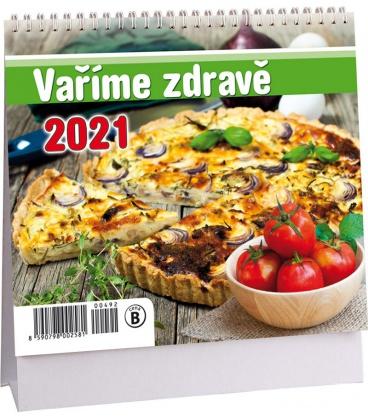 Table calendar Vaříme zdravě mini 2021