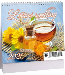 Table calendar Léčivé rostliny mini 2021