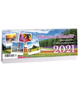 Table calendar Žánrový plánovací s citáty 2021