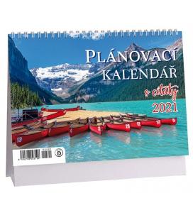 Table calendar Plánovací s citáty - Příroda 2021