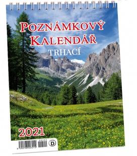 Table calendar Trhací kalendář s háčkem na zavěšení 2021