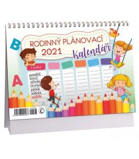Table calendar Rodinný plánovací  2021