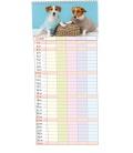 Wall calendar  Rodinný plánovací 2 - Mazlíčci 2021