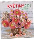 Wall calendar Květiny 2021