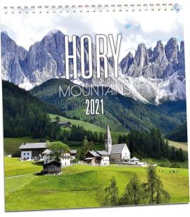 Wall calendar Hory 2021