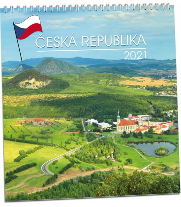 Wall calendar Česká republika 2021