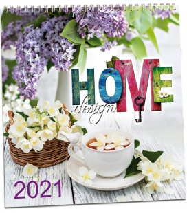 Wall calendar Home design 2021