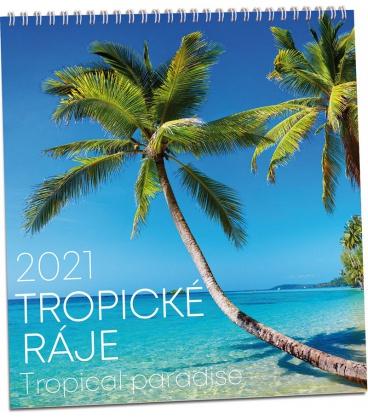 Wall calendar Tropické ráje 2021