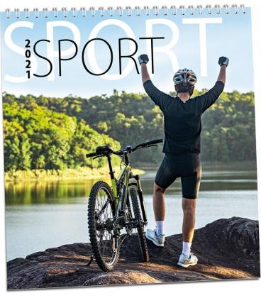 Wall calendar Sporty 2021